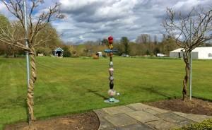 Totem II at Surrey Hills Sculpture Garden