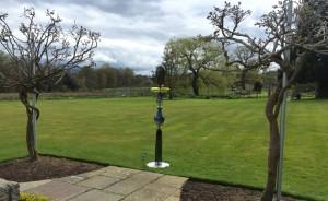 Totem i at Surrey Hills Sculpture Garden