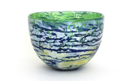 Clear View - Landscape bowl by Adam Aaronson
