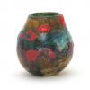 Spring Greens IV Handblown Vase by Adam Aaronson