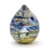 Spring Greens V Handblown Vase by Adam Aaronson