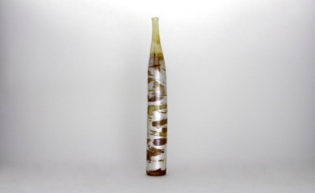 Chamomile Bark Bottle Handblown Glass by Adam Aaronson