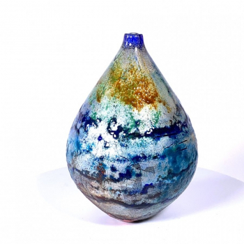 River Walk Handblown Glass Vase by Adam Aaronson