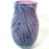 Pink and Blue Allegro Vase by Adam Aaronson