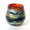 Ranmore Sunset Handblown Glass Bowl by Adam Aaronson