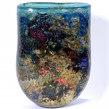 Surrey Hills Mist Handblown Glass Vase by Adam Aaronson