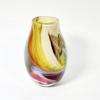 Beachcomber Vase Handblown Glass by Adam Aaronson