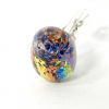 Rainbow Bird Handmade Glass by Adam Aaronson