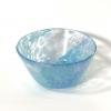 Pale Blue Swirly Bowl Handmade Glass by Adam Aaronson