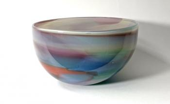 Beachcomber Horizon Bowl Handmade Glass Bowl by Adam Aaronson