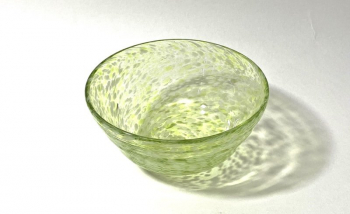 Falling Leaves Bowl, Handmade Glass Bowl by Adam Aaronson