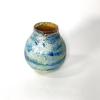 Gold Horizon Vase , Handblown Glass by Adam Aaronson