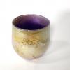 Purple Sunrise Bowl, handblown glass by Adam Aaronson