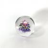Triple Blossom Handmade Glass Paperweight by Adam Aaronson