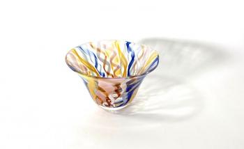 Memories of Murano Handblown Glass Bowl by Adam Aaronson