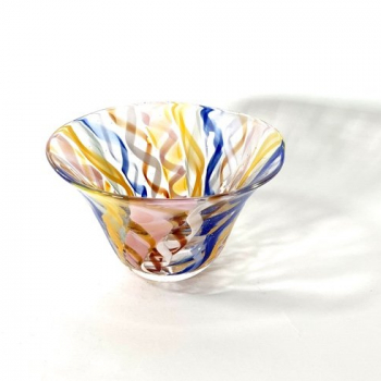 Memories of Murano Handblown Glass Bowl by Adam Aaronson