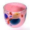 Pink Beachcomber Small Bowl Handblown Glass by Adam Aaronson