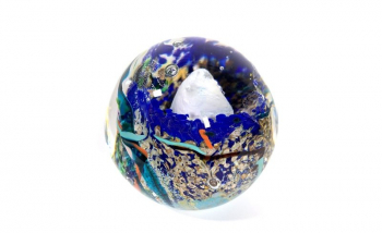 Rockpool treasure Handmade Glass Paperweight by Adam Aaronson