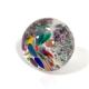 Winter fiesta Handmade Glass Paperweight by Adam Aaronson