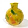 Yellow Beachcomber Medium bud vase Handblown Glass by Adam Aaronson