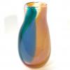 Amber Beachcomber Snowdrop Vase Handblown Glass by Adam Aaronson