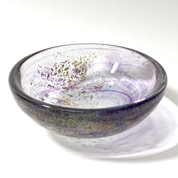 Floating Dreams Bowl Handblown Glass by Adam Aaronson