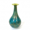 Green lustre vase, Handblown glass by Adam Aaronson