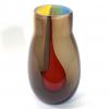 Purple Beachcomber Snowdrop Vase Handblown Glass by Adam Aaronson