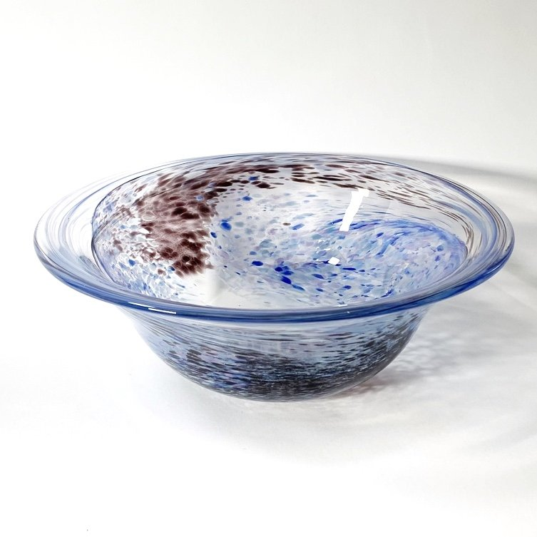 Still Waters Bowl Handblown Glass by Adam Aaronson