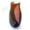 Turquoise Beachcomber Snowdrop Vase Handblown Glass by Adam Aaronson