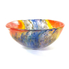 Double Rainbow Bowl Handmade Glass by Adam Aaronson