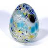 Speckledy Holly Eggs Handmade Glass by Adam Aaronson
