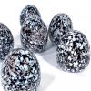 Speckledy Milly Eggs Handmade Glass by Adam Aaronson