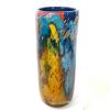 Secret Garden Tall Cylinder Handblown glass by Adam Aaronson