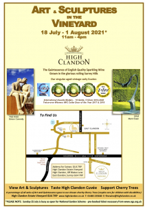 Art and Sculptures in the Vineyard High Clandon Flyer