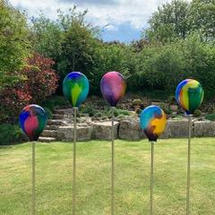 Cloudscape 3 - Glass sculpture by Adam Aaronson